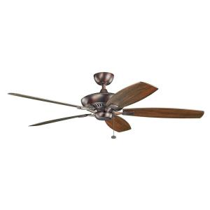 Canfield - Ceiling Fan - with Traditional inspirations - 14 inches tall by 60 inches wide