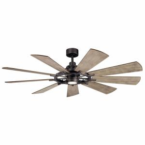 "Gentry - 65"" Ceiling Fan with Light Kit"