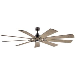 Gentry XL - 85 Inch Ceiling Fan with Light Kit