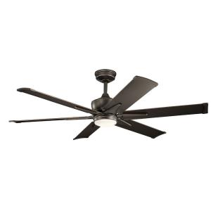 "Szeplo Patio - 60"" Ceiling Fan with Light Kit"