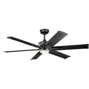 Szeplo Patio - Ceiling Fan with Light Kit - 16.25 inches tall by 60 inches wide