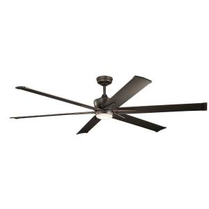 Szeplo Patio - 80 Inch Ceiling Fan with Light Kit