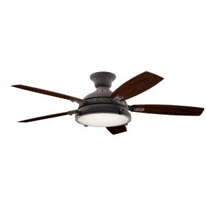 Hatteras Bay - 52 Inch Ceiling Fan with Light Kit