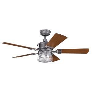 Lyndon Patio - 52 Inch Ceiling Fan With Light Kit