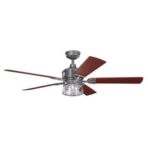 "Lyndon Patio - 60"" Ceiling Fan With Light Kit"