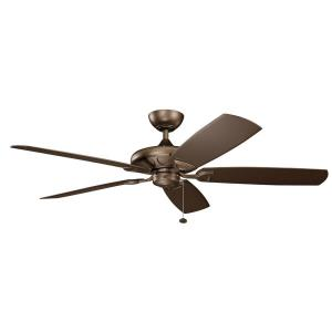 Kevlar - Ceiling Fan - with Traditional inspirations - 13.75 inches tall by 60 inches wide