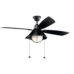 Seaside - 54 Inch Ceiling Fan with Light Kit