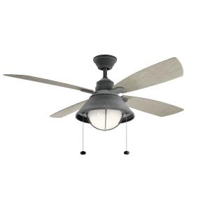 "Seaside - 54"" Ceiling Fan with Light Kit"