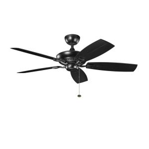 Canfield Patio - Ceiling Fan - with Traditional inspirations - 13.25 inches tall by 52 inches wide