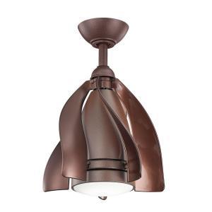 """Terna - 15"""" Patio Ceiling Fan with Light Kit"""