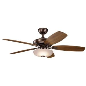"Canfield Pro - 52"" Ceiling Fan With Light Kit"