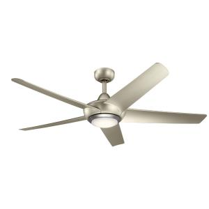 Kapono - Ceiling Fan with Light Kit - with Transitional inspirations - 13.5 inches tall by 52 inches wide