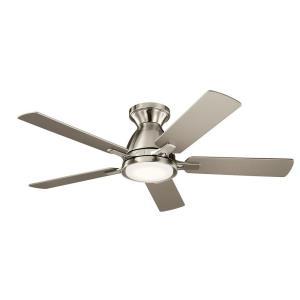 Arvada - Ceiling Fan with Light Kit - with Contemporary inspirations - 10.25 inches tall by 44 inches wide