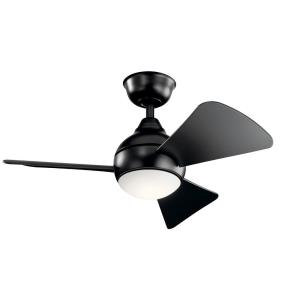 Sola - 34 Inch Ceiling Fan with Light Kit