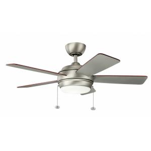 Starkk - 42 Inch Ceiling Fan with Light Kit