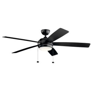 "Starkk - 60"" Ceiling Fan with Light Kit"