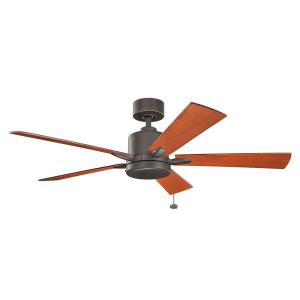 Bowen - Ceiling Fan - with Transitional inspirations - 13.5 inches tall by 52 inches wide