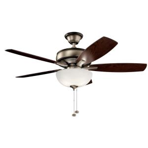 Terra Select - Ceiling Fan with Light Kit - 20.75 inches tall by 52 inches wide