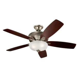 Monarch II Select - 52 Inch Ceiling Fan with Light Kit