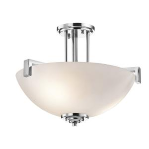 Eileen - 17.25 Inch 3 Light Convertible Inverted Pendant