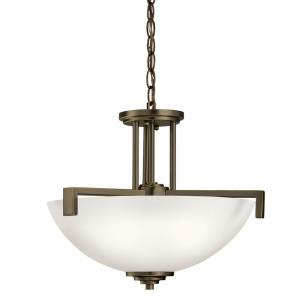 Eileen - Three Light Inverted Semi Flush Mount