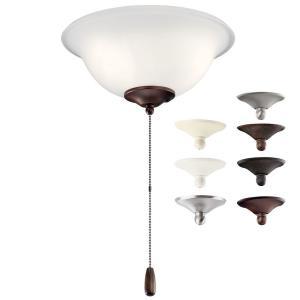 Accessory - 11 Inch 4W 3 LED Bowl Ceiling Fan Light Kit