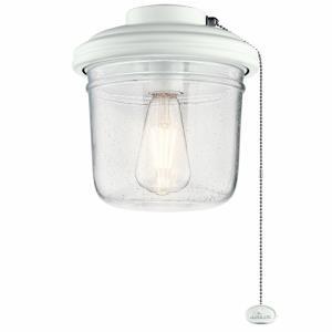 Yorke - 9 Inch 7W 1 LED Ceiling Fan Light Kit