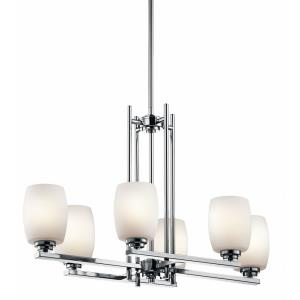 Eileen - Six Light Linear Chandelier