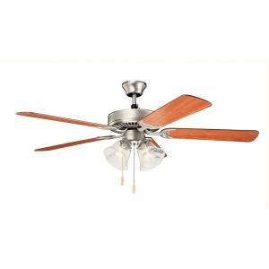 """Basics Premier - 52"""" Ceiling Fan with Light Kit"""
