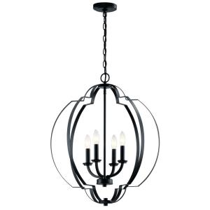 Voleta - Four Light Large Foyer Pendant