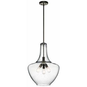 "Everly - 20"" Three Light Pendant"