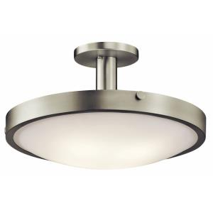 Lytham - 4 light Semi-Flush Mount - with Soft Contemporary inspirations - 10.75 inches tall by 20.5 inches wide