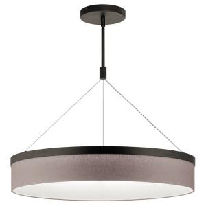 Mercel - 38W 3 LED Round Chandelier/Pendant - with Transitional inspirations - 18.5 inches tall by 26.5 inches wide