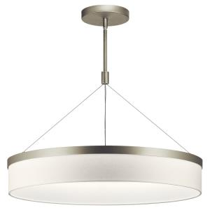 Mercel - 26 Inch 38W 3 LED Round Chandelier/Pendant