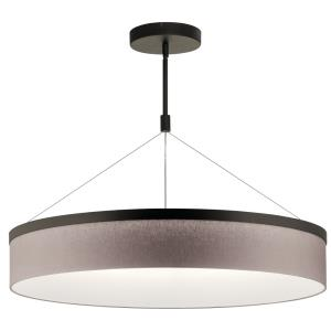 Mercel - 46W 3 LED Round Chandelier/Pendant - with Transitional inspirations - 19.5 inches tall by 32.5 inches wide