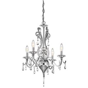Rizzo - Four Light Mini-Chandelier