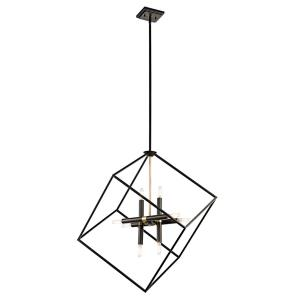 Cartone - 8 light Pendant - with Contemporary inspirations - 31.25 inches tall by 25.5 inches wide