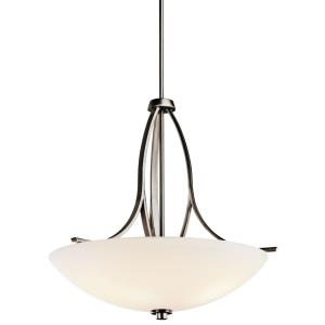 Granby - 3 light Inverted Pendant - with Transitional inspirations - 24.5 inches tall by 24.5 inches wide