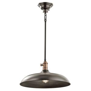 "Cobson - 16"" One Light Pendant"
