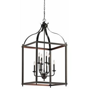 Larkin - Eight Light Foyer Chandelier