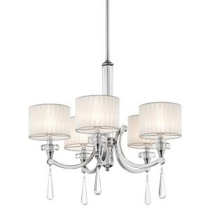 Parker Point - Five Light Chandelier