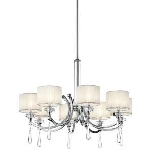Parker Point - Eight Light Chandelier