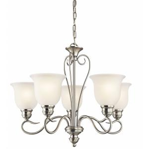 Tanglewood - 50W 5 LED Medium Chandelier - 19.5 inches tall by 24 inches wide