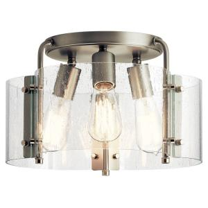 Thoreau - Three Light Semi-Flush Mount