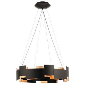 Moderne - 26.5 Inch 100W 2 LED Round Pendant