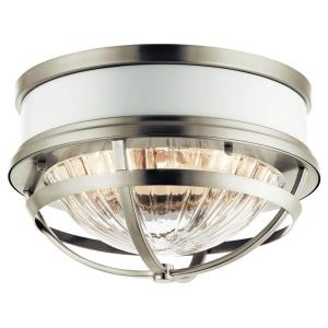 Tollis - Two Light Flush Mount