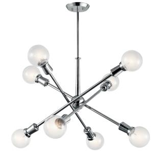Armstrong - Eight Light Medium Chandelier
