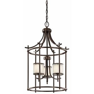 Tallie - 3 light Large Foyer - 31 inches tall by 20 inches wide