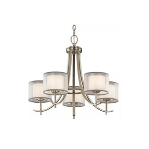 Tallie - 5 light Medium Chandelier - 20.5 inches tall by 24 inches wide