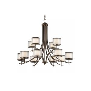 Tallie - Twelve Light 2-Tier Chandelier